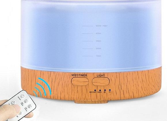 Humidificador Ultrasonico de 500ml  con Control Remoto