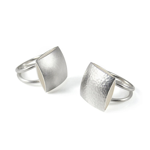 Pillow Cocktail Rings