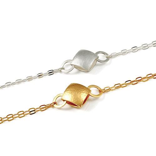 SALE: Small Pillow Chain Bracelets