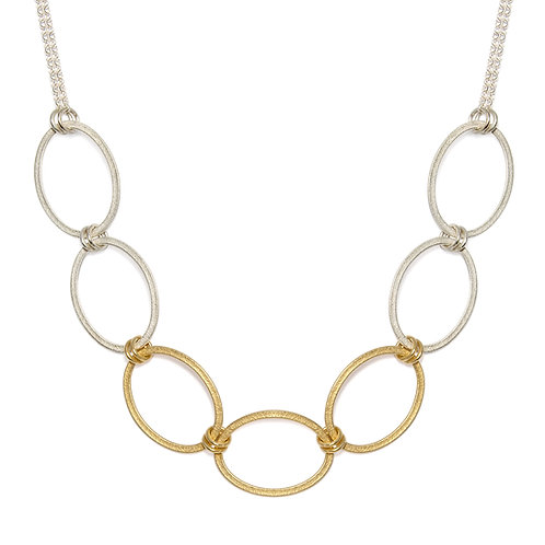 Ellipse Chain Necklace