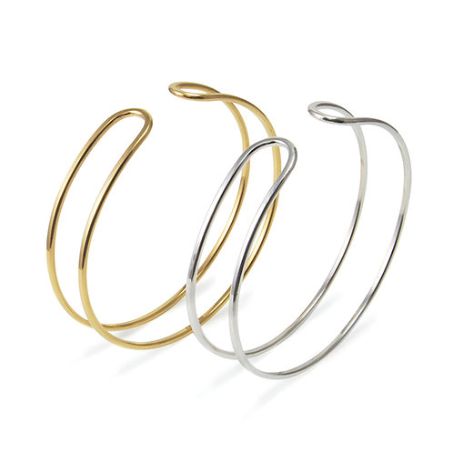 Parallel Curve Open Cuff Bangle