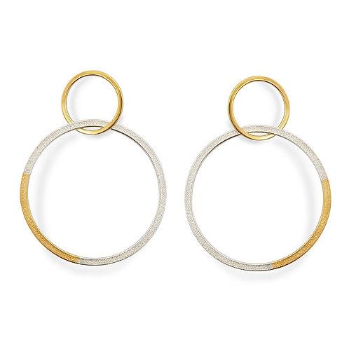 Double Ellipse Earrings