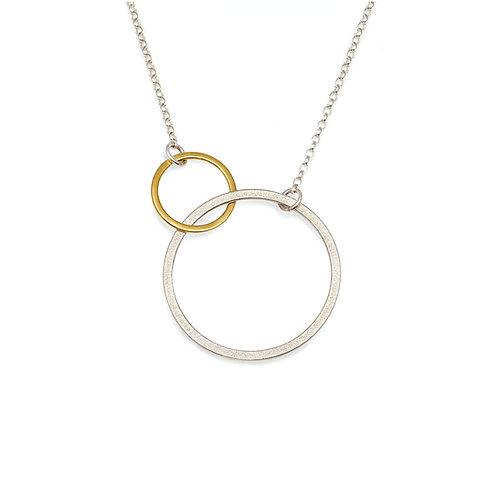 Double Ellipse Necklace