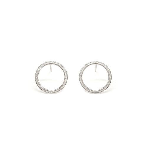 Mini Ellipse Stud Earrings