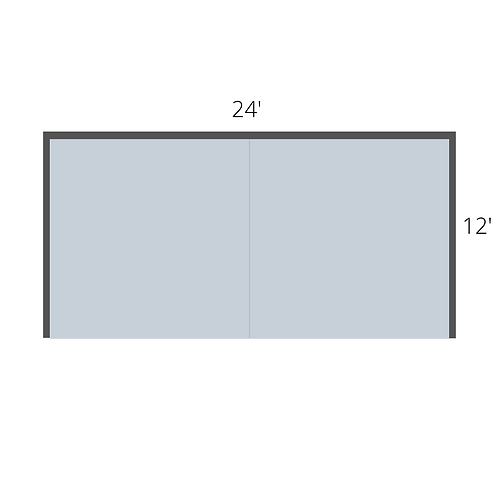 Double Booth (24' x 12')