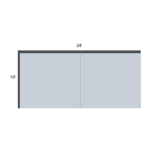 Double Booth - 24'x10'