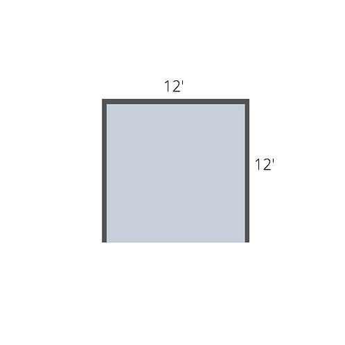Single Booth (12' x 12')