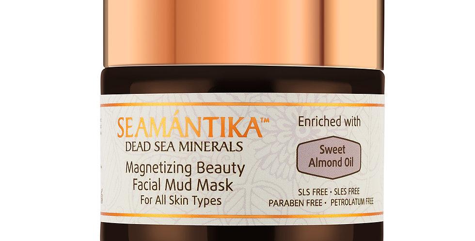 Magnetizing Beauty Facial Mud Mask mit Süssmandel-Öl