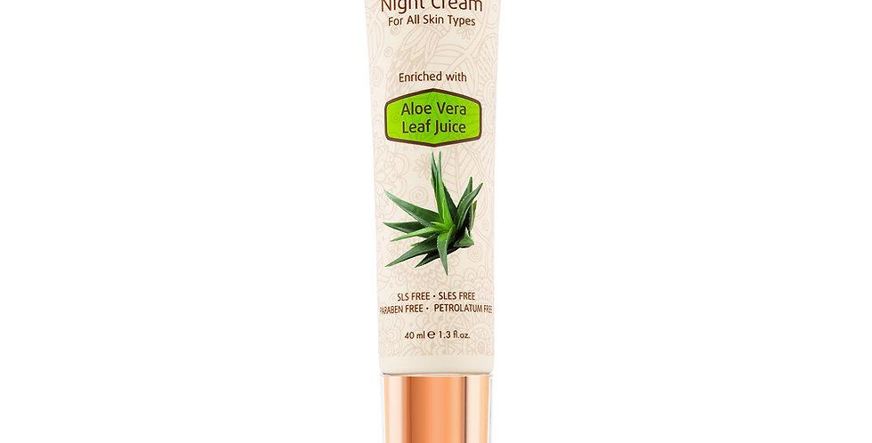 Mineral Night Cream - Nachtcreme mit Aloe Vera