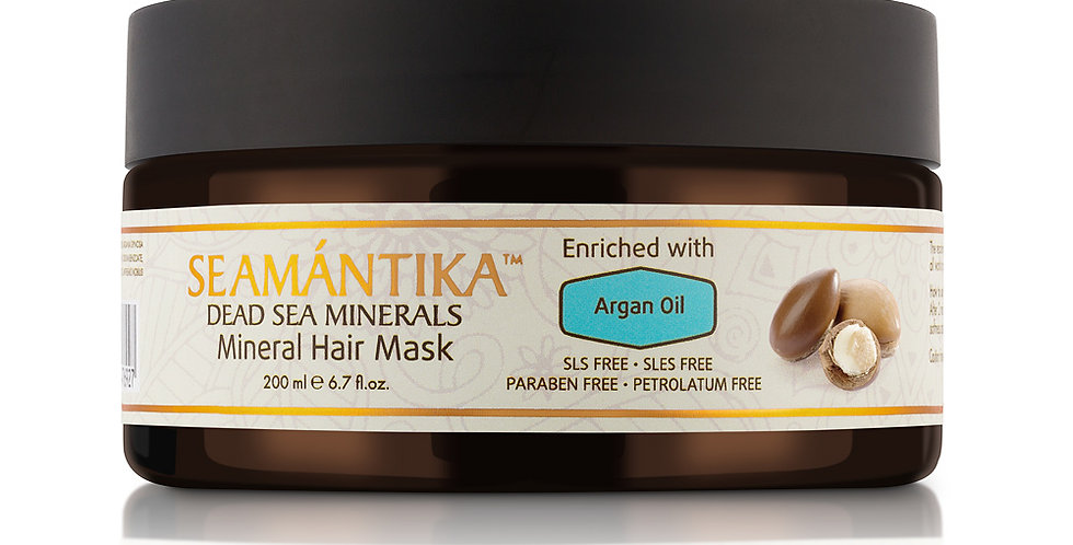 Mineral Hair Mask - Haarmaske mit Argan-Öl