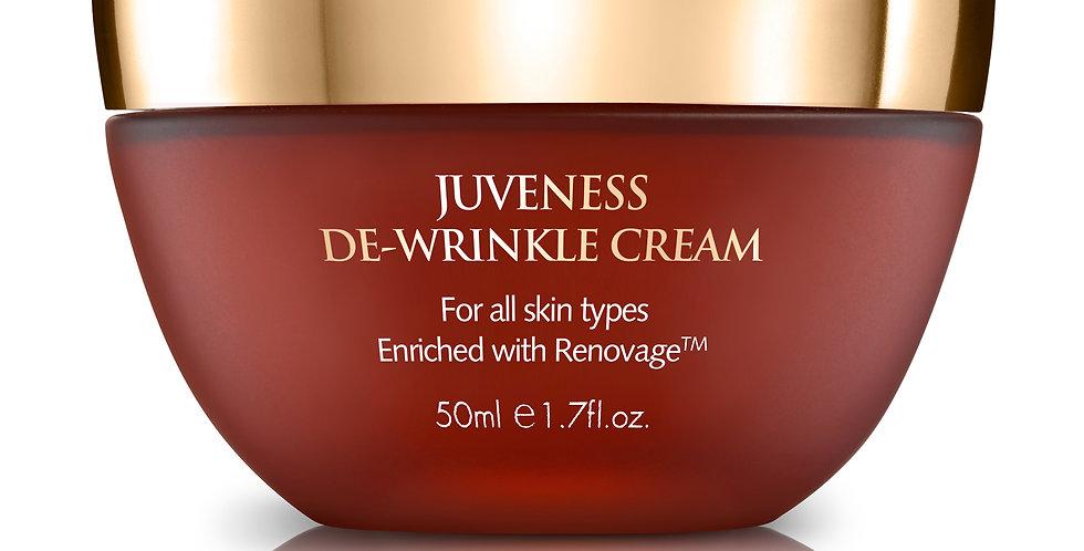 JUVENESS DE-WRINKLE CREAM