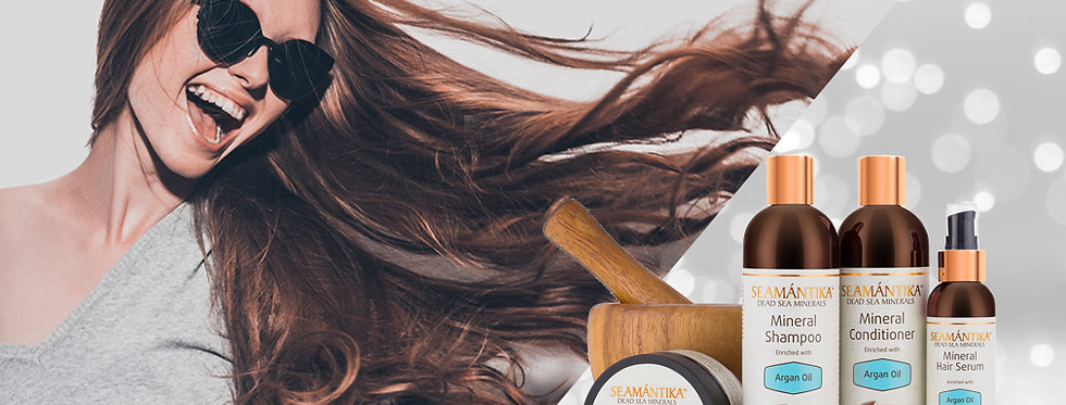 Set Haarpflege mit Arganöl