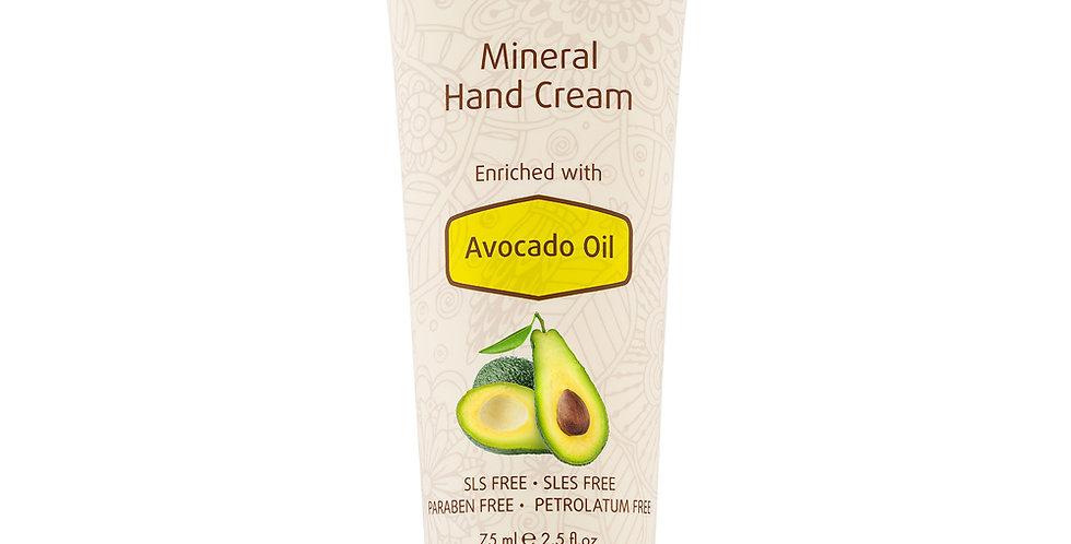 Mineral Hand Cream Enrichie à l'huile d'avocat