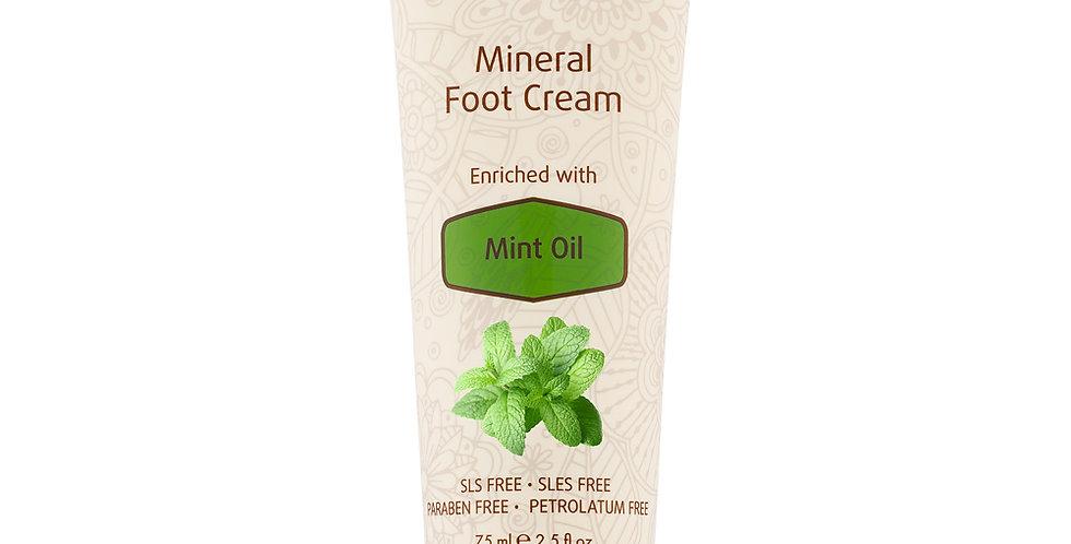 Mineral Foot Cream Enrichie à l'huile de menthe