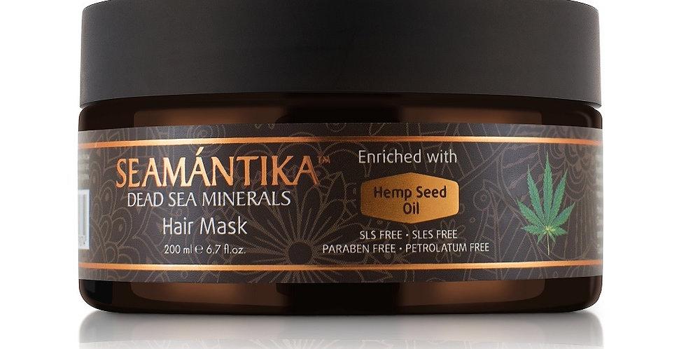 Masque capillaire à l'huile de chanvre