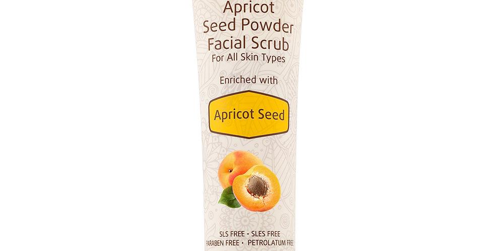 Apricot Seed Powder Facial Serum, Pour tous les types de peau, au noyau d'abricot