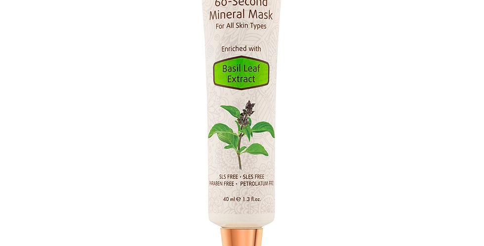 60-Second Mineral Mask - Für alle Hauttypen
