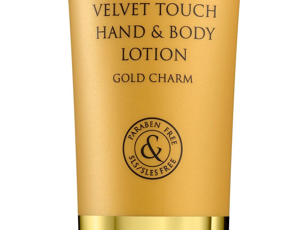 VELVET TOUCH HAND & BODY LOTION GOLD CHARM