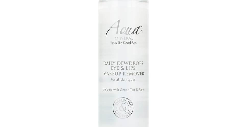 DAILY DEWDROPS EYE & LIPS MAKEUP REMOVER