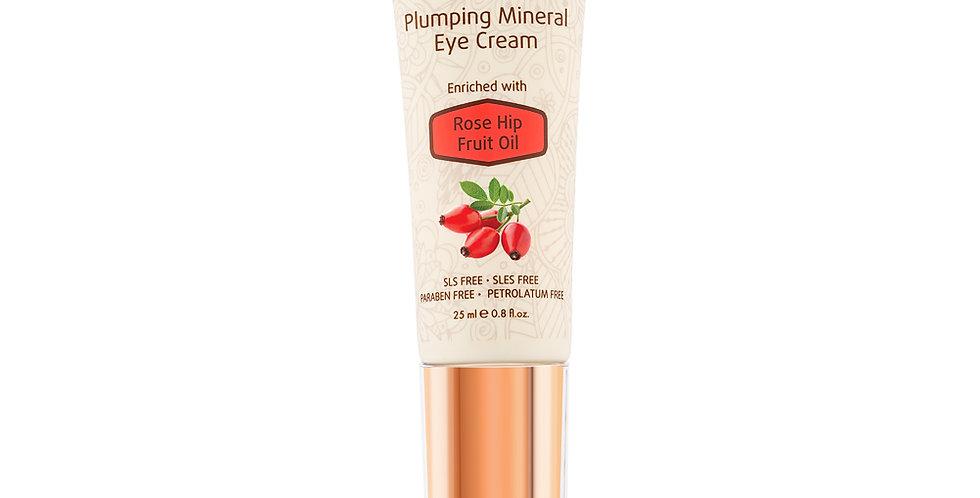 Plumping Mineral Eye Cream - Augencreme mit Hagebutten-Öl