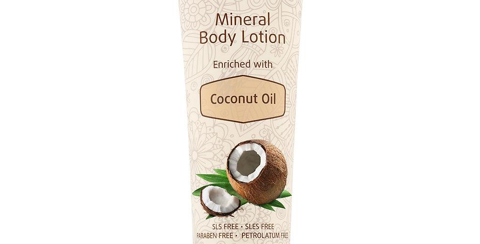 Mineral Body Lotion Enrichie à l'huile de noix de coco