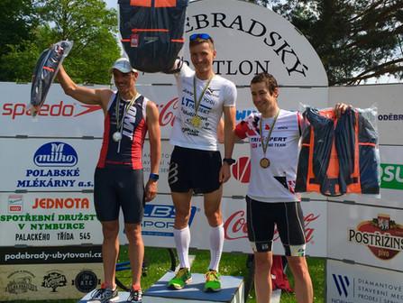 Poděbradský triatlon: Poděbradku jsem nevyhrál, ale Postřižinská jedenáctka v pořádku