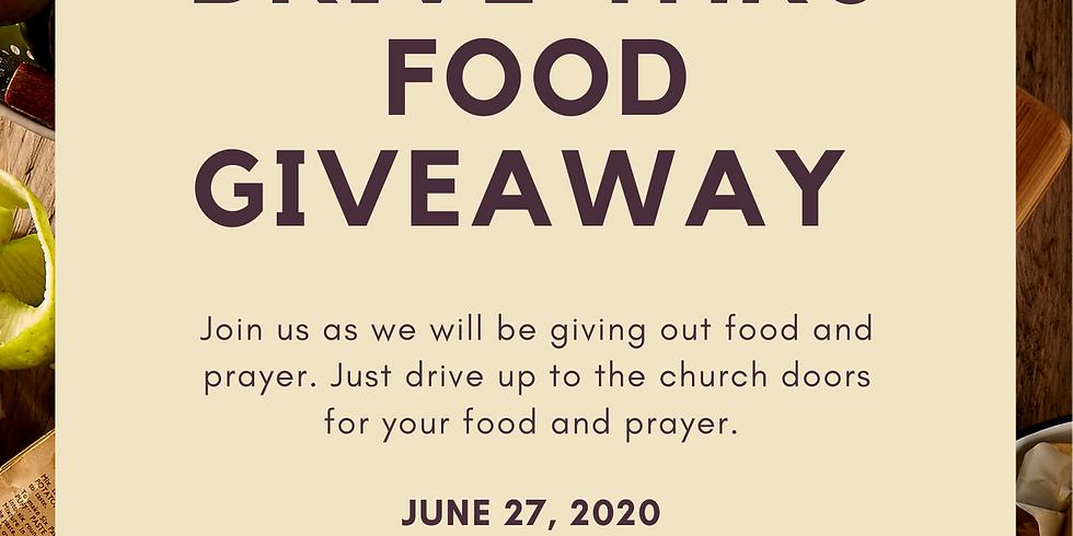 Drive-Thru Food Giveaway
