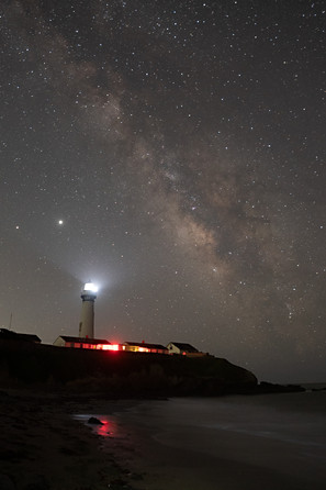 Pigeon Point At Night