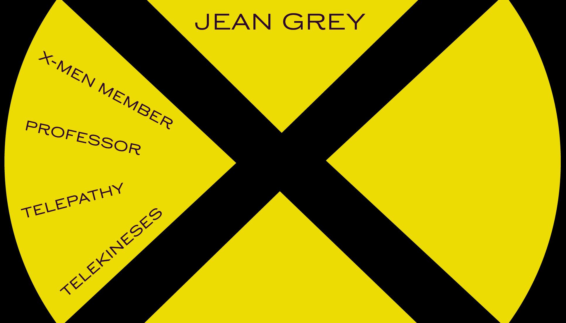 Jean Grey Business Card Side 2