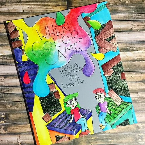 When Color Came Ebook