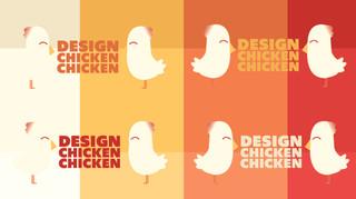 Design Chicken Chicken Course Flyer
