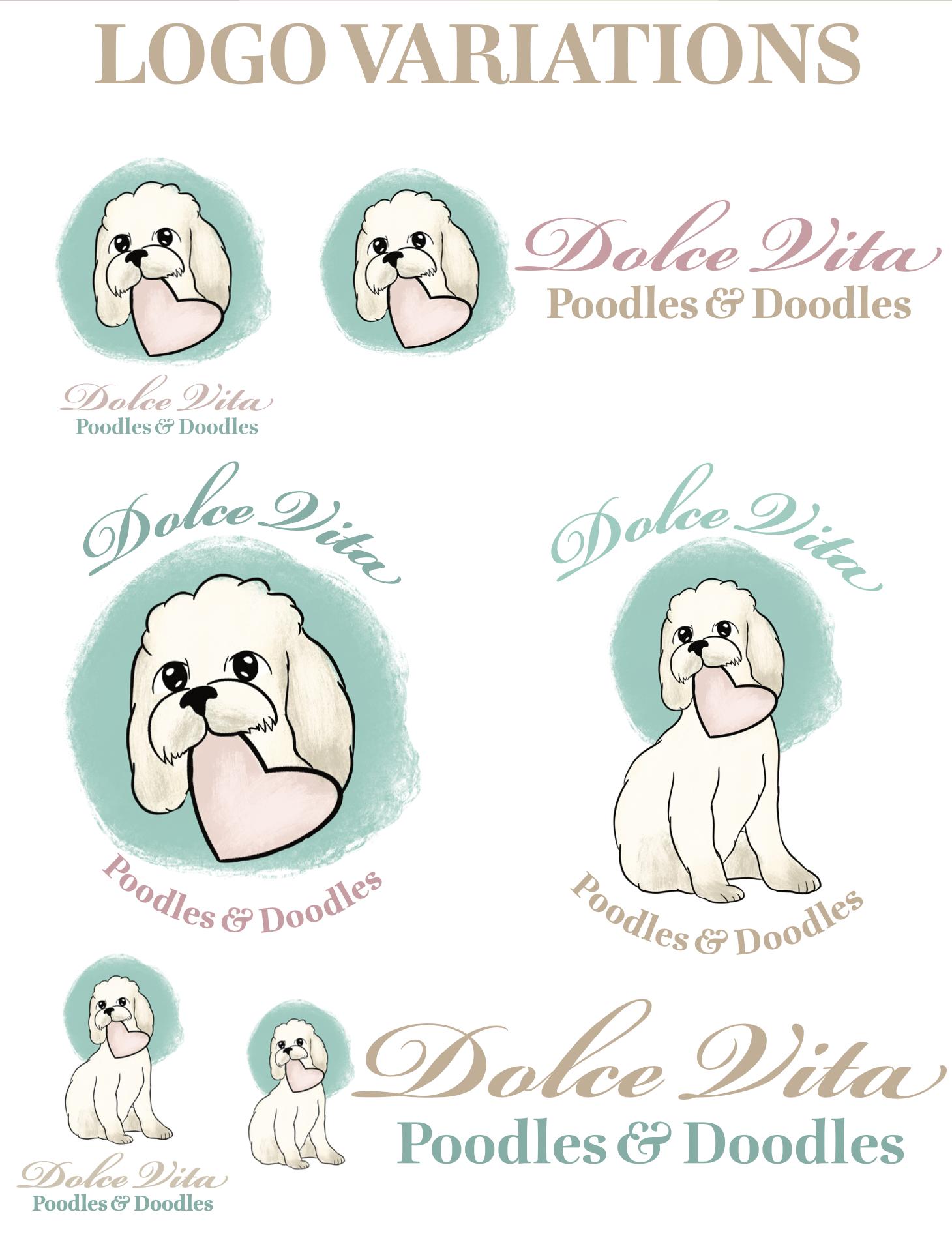 Dolce Vita Logo Variations