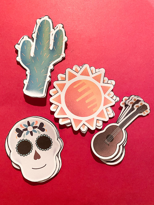 Hispanic Heritage Month Sticker Pack