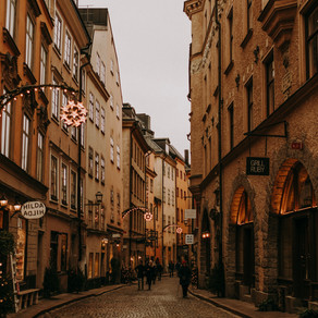 Now I walk into the wild: Silvester in Stockholm, Schweden