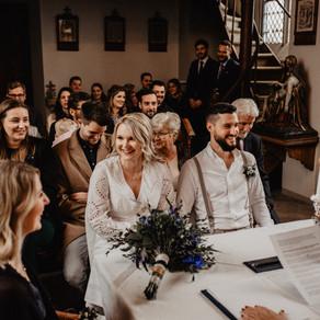 Hochzeit im Münsterland - Trauung auf Burg Hülshoff & Hochzeitsfeier Hotel Steverburg