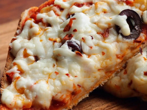 Two Easy Bread Pizza