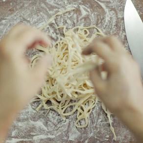 Homemade Shrimp Pasta