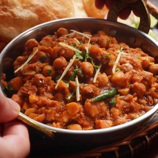 Delicious Chole Bhature