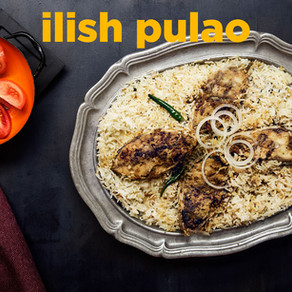 Ilish Pulao / Hilsa fish Pulao