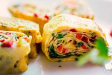Omelette Roll I Breakfast Recipe