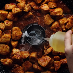 Spicy Chicken Tawa Boti