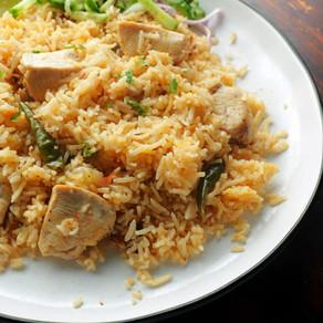 Student Special Chicken Tehari Recipe
