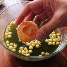 The Crispiest Pani Puri Recipe With Tamarind and Mint Water