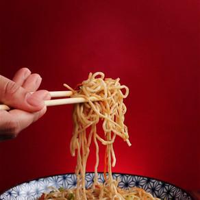 Yummy Veg Hakka Noodles