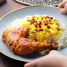 Persian Chicken Rice