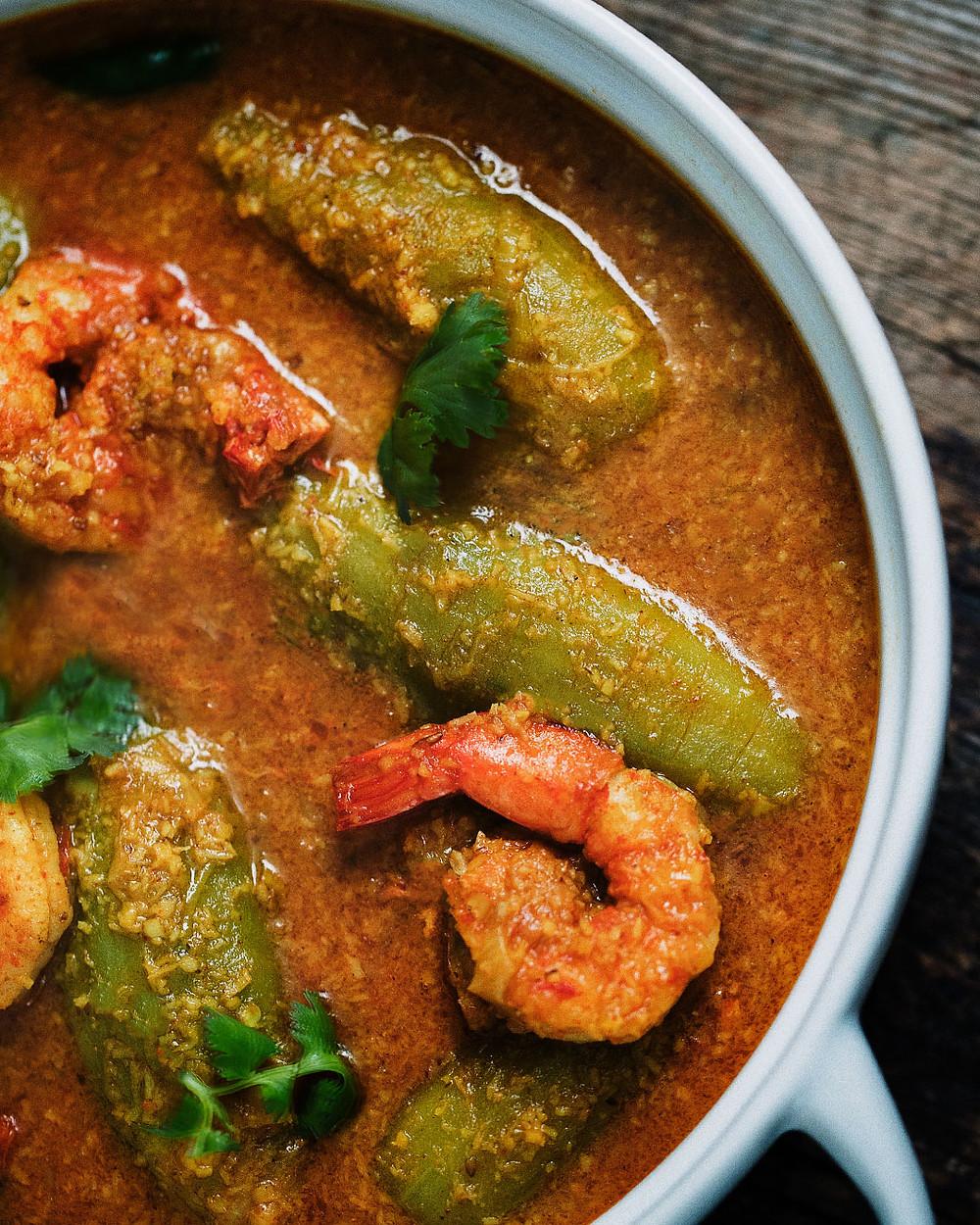 potol malai curry