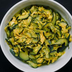 Zucchini Egg Stir Fry