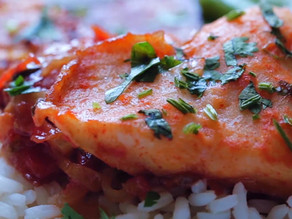 Basa Fillet With Tomato & Coriander