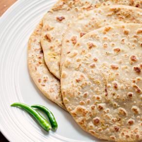 Cauliflower Porota / Paratha