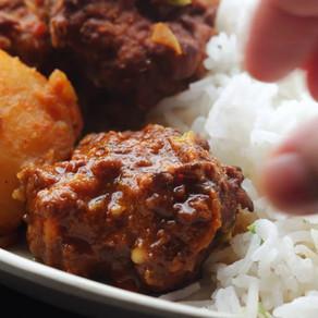 Begun Kofta Curry